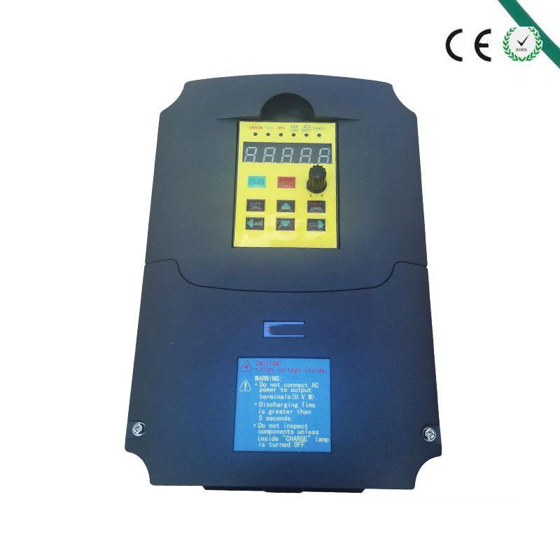 Für Russische CER 5.5kw 220 v AC Frequenzumrichter-konverter Ausgang 3 Phase 400 HZ ac motor wasserpumpe controller ac-antriebe wechselrichter