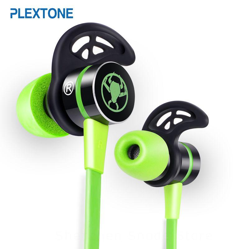 PLEXTONE G20 écouteurs intra-auriculaires avec Microphone filaire casque de jeu magnétique stéréo basse écouteurs ordinateur écouteur pour téléphone Sport