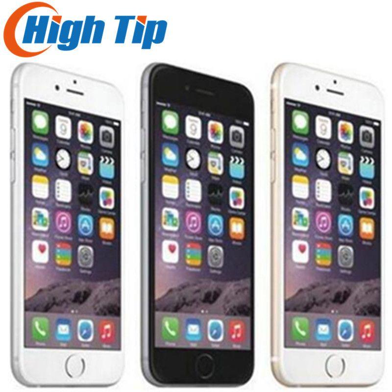 Unlocked Original Apple iPhone 6 Plus LTE 5.5'' IPS 8MP Dual Core Mobile Phone GSM 16GB 64GB 128GB ROM iOS Used Cellp hone