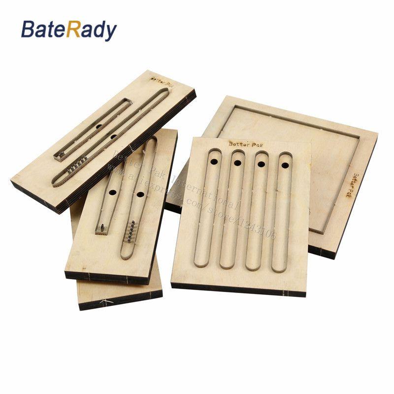 Le poinçon de laser de forme en cuir adapté aux besoins du client par BateRady meurent, moule de coupeur de feuille de PVC/EVA de lame en acier du japon, découpage en cuir de ceinture de montre à assembler soi-même