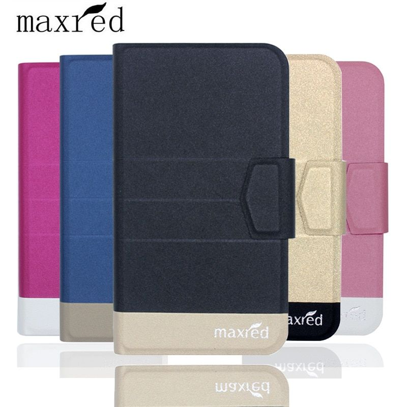 Original! Ulefone S7 Case 5 Colors Fashion Luxury Ultra-thin Flip Leather Protective Cover for Ulefone S7