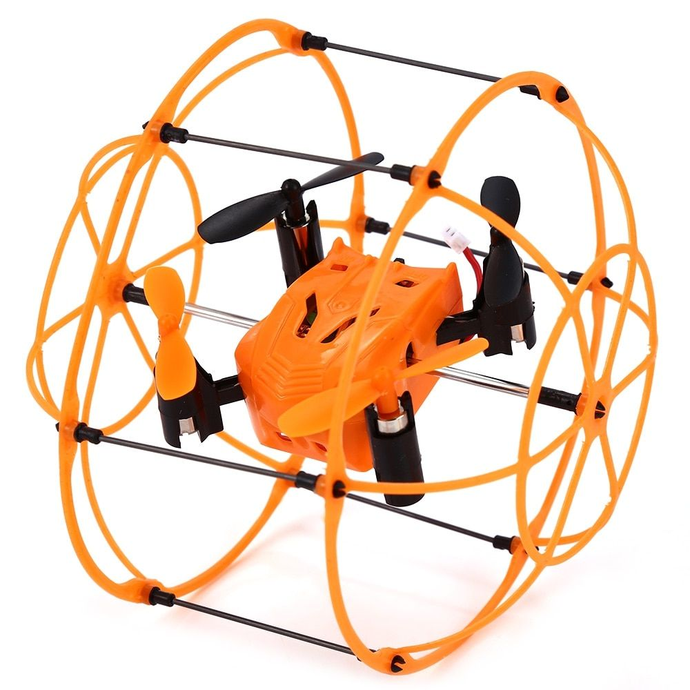 2016 New Arrive RC Helic Max Sky Walker 1336 2.4GHz 4CH RC Quadcopter 3D Flip Climbing Wall Roller Copter