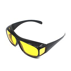 Driver Glasses protection glasses HD Yellow Lenses Night Vision Goggles Car Driving Eyewear UV Protection Brand Sport Polarized