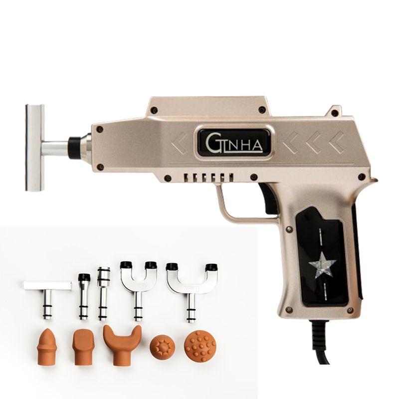 2018 neue Chiropraktik Anpassung Werkzeug Korrektur Gun Wirbelsäule therapie impuls Massager Leistungsstarke 950N!