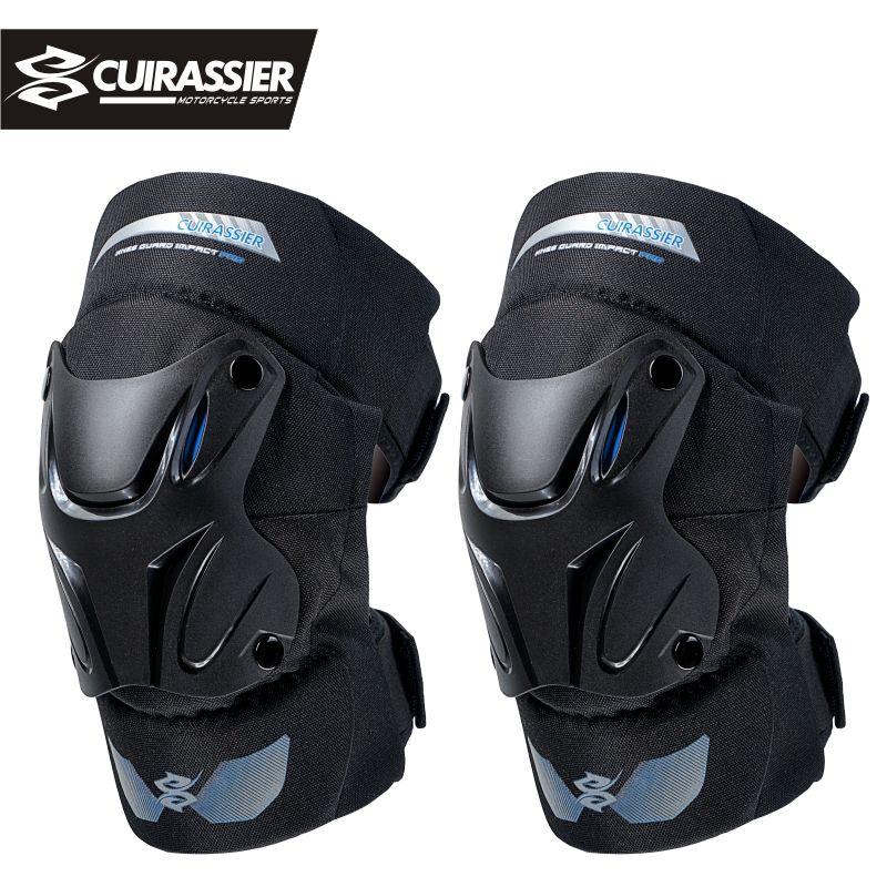 Cuirassier K01 genouillère de Protection moto Motocross genouillères MX protecteur Protection de course Protection de coude tout-terrain