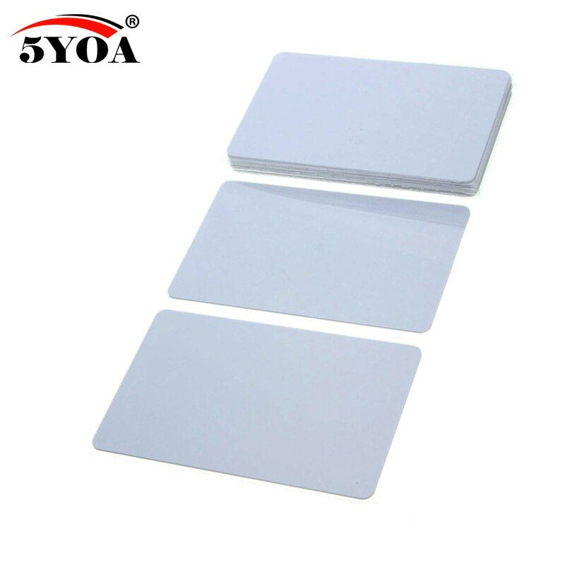 5YOA 5pcs UID IC Card Changeable Smart Keyfobs Clone Card for 1K S50 MF1  RFID 13.56MHz Access Control Block 0 Sector Writable