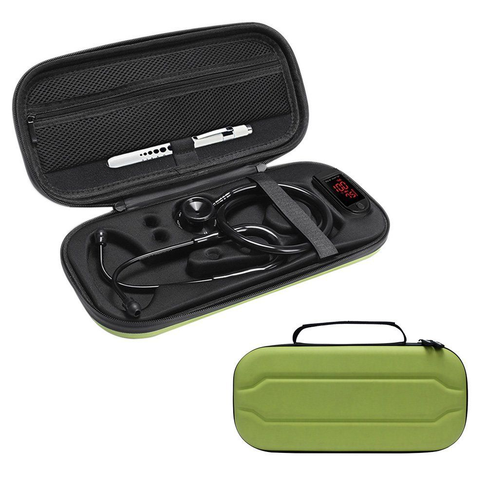 Newest Stethoscope Hard Carrying Case For 3M Littmann/MDF/ADC/Omron Stethoscope/Hard Drive/Thermomete/Pulse Oximeter Accessories