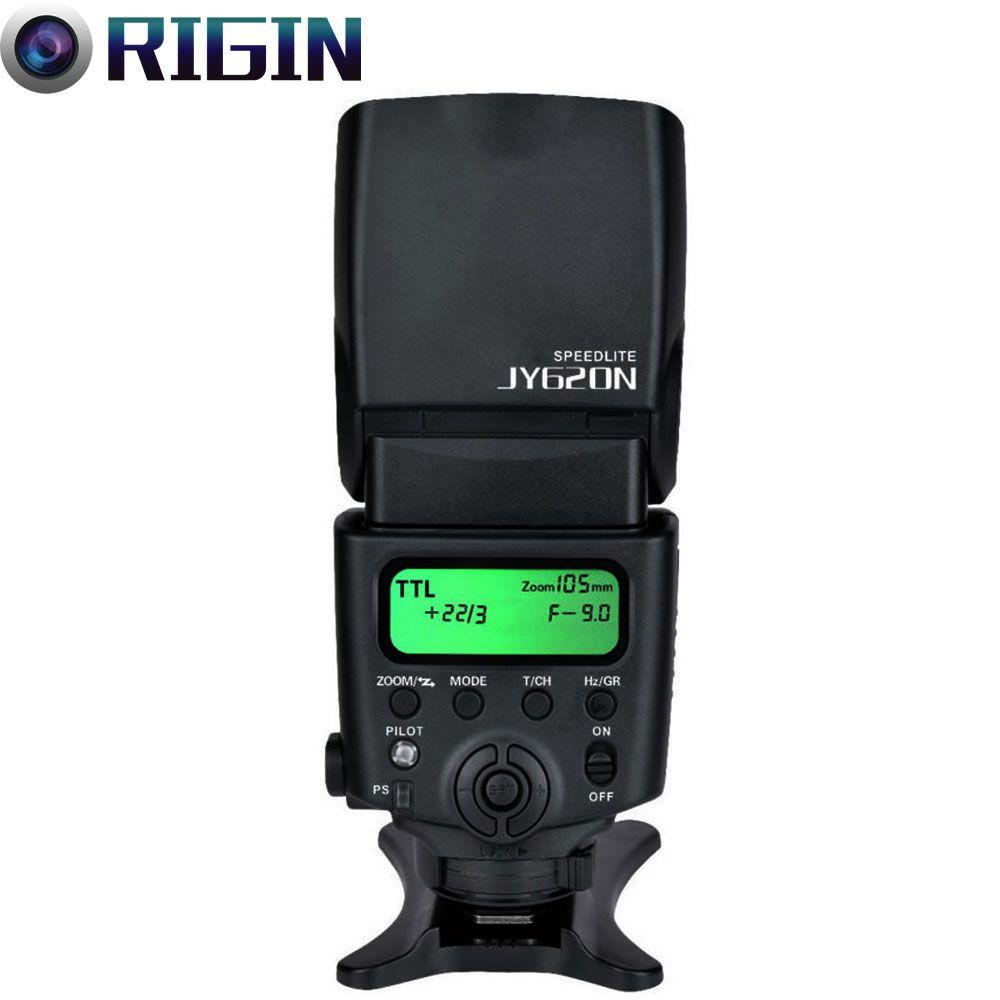 Viltrox high-quality JY-620N GN40 Speedlite TTL Camera flash with LCD Screen For Nikon D810 D800 D700 D90/D5000/D5100/D5200,etc