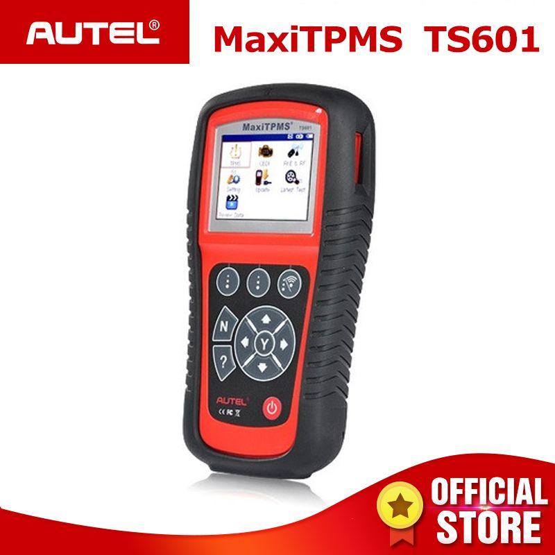 AUTEL MaxiTPMS TS601 TPMS Car Diagnostic tool OBD2 Scanner Automotive Activator Tire repair tools Sensor programming Code Reader