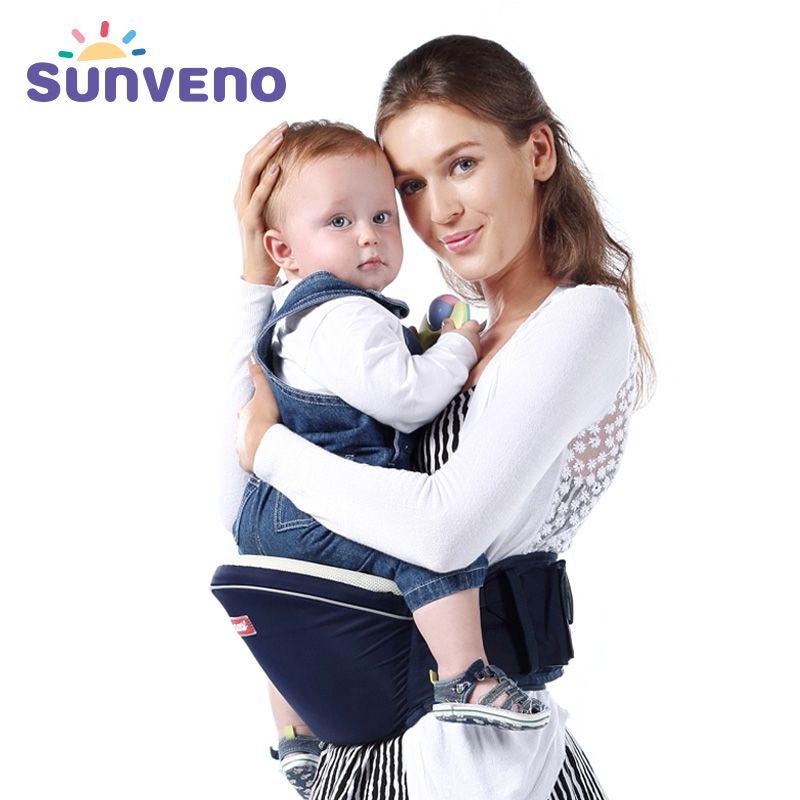 SUNVENO New Design Kangaroo Hipseat Carrier Infant Baby Carrier Kids Infant Hip Seat Carrier for Carring Baby Home Shopping