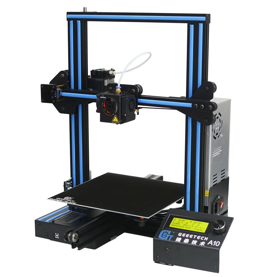 Geeetech A10 3D Printer Good Adhesion Platform LCD2004 Display 220*220*260 High PFrinting Accur Efficient and fast quality