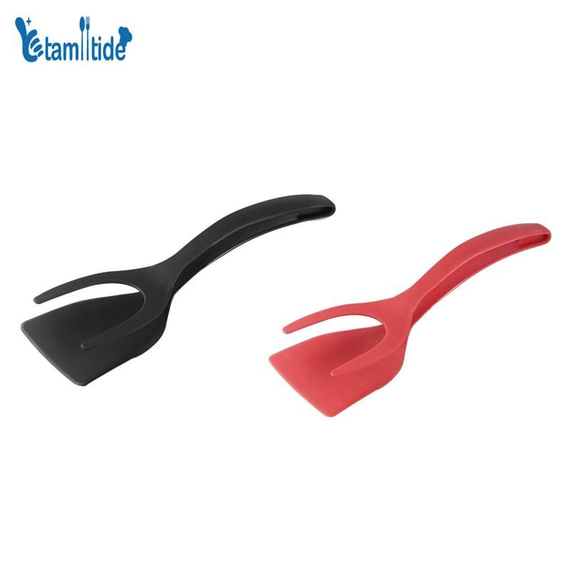 Tamlltide Silicone Egg Spatula 2 IN 1 Grip and Flip Spatula Perfect Pancake Rench Toast Omelet Making Ease Cooking Home Kitchen