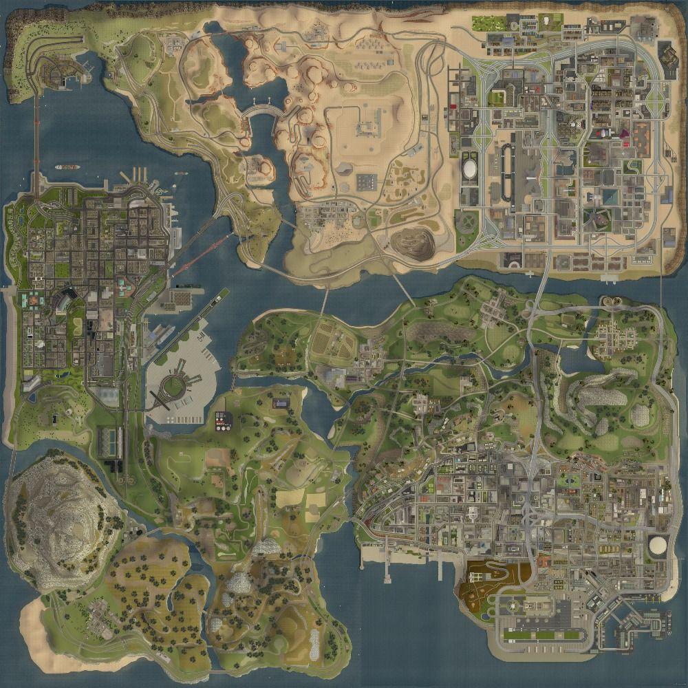 Los carteles de la pared gta 5 HD mapa topográfico de Grand Theft Auto V mapa Estratégico