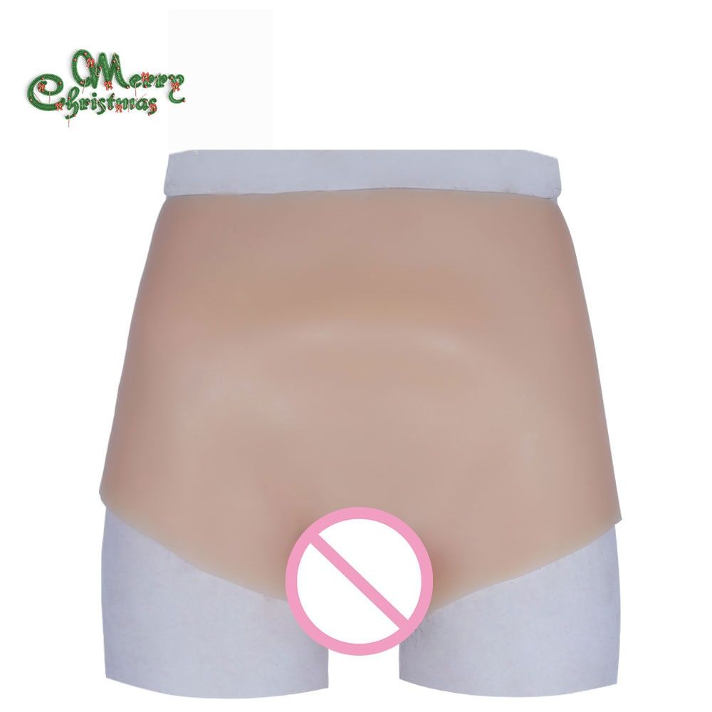 Silicone vagina brief for crossdresser male to female toys transgender hot hip fake pussy underwear for drag queen best selling