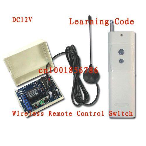 3000 Mt DC12V 10A 1CH 315/433 MHz RF Wireless Fernbedienung Netzschalter Radio Controller Sender Empfänger Mit antenne