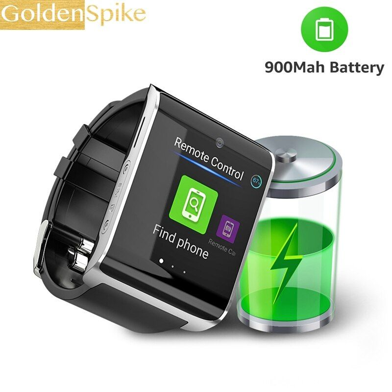 DM2018 PK LEM7 Z28 4G smart watch 1.54 inch GPS Sports smartwatch phone Android 6.0 Bluetooth 4.0 Heart Rate Monitor Pedometer