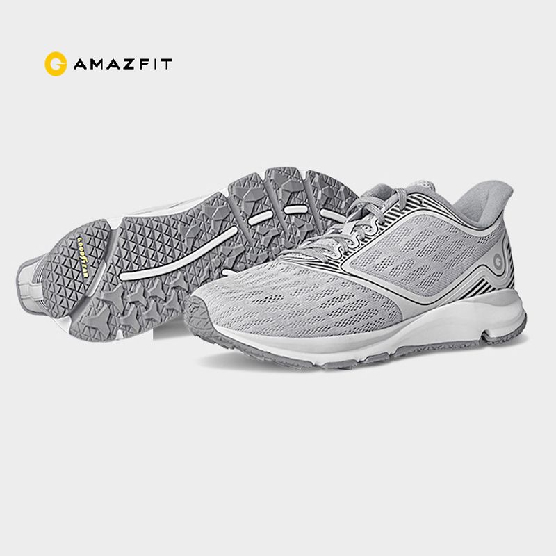 Original Xiaomi Amazfit antilope lumière chaussures intelligentes Sports de plein air baskets en caoutchouc Support puce intelligente (non inclus) pk Mijia 2