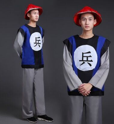 qing dynasty soldier suit for men ancient royal soldier costume men royal guard costume cosplay soldier ancient chinese clothing