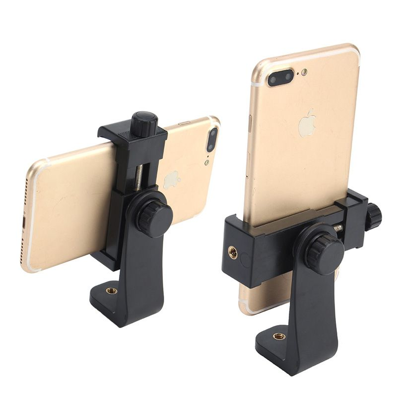 Tripod Mount/Cell Phone Clipper Vertical Bracket Smartphone Clip Holder 360 Adapter For iPhone New  Arrival