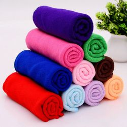 10pcs Cleaning Cloth Microfiber Car Wash Towel Car Car Waxing Polishing Drying Detailing Car Care Kitchen Housework Towel