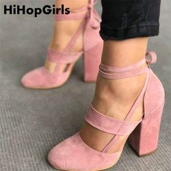 HiHopGirls Factory Price Sexy Gladiator High Heels 8CM Women Pumps Wedding Dress Shoes Woman Valentine Stiletto High Heels Shoes