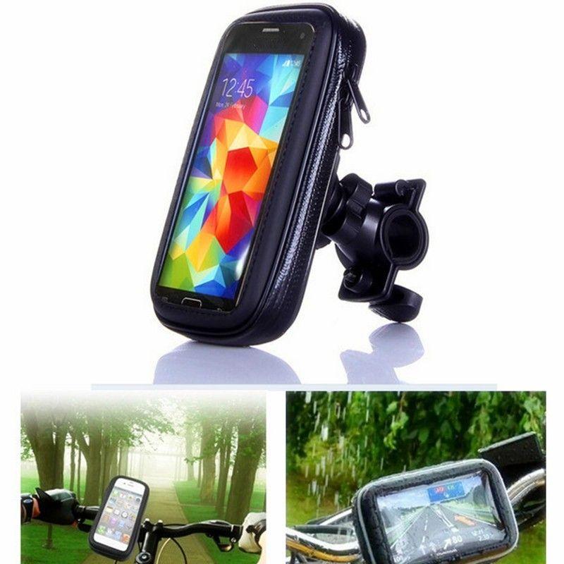 Universal Étanche Moto Vélo Vélo Guidon de Moto Mont Téléphone Titulaire Cas Pour Samsung Pour Huawei Pour iPhone 6 7