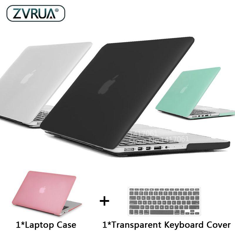 ZVRUA Meilleur Ordinateur Portable étui pour macbook 13 15 pouces Pro avec Écran Retina A1502 A1398/CD ROM A1278 A1286 + Couverture de Clavier