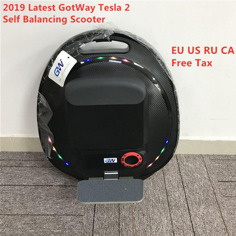 2019 neueste GotWay Tesla 2 Selbst Ausgleich Roller 2000W Motor 84V 1020WH 16