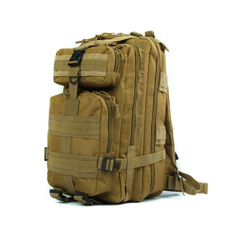 600D Molle 3-Tasche Trink Assault Tasche Taktische Rucksack Erweiterbar Military Sport Camping Wandern Trekking Bag