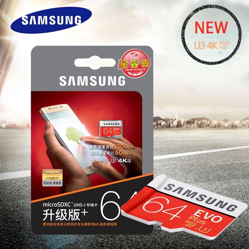 SAMSUNG Speicher Karte MicroSDXC 64 gb Class10 SDXC UHS-I SD Karten Trans Microsd Cartao de Memoria Tarjeta SDTF Karte Für smartphone