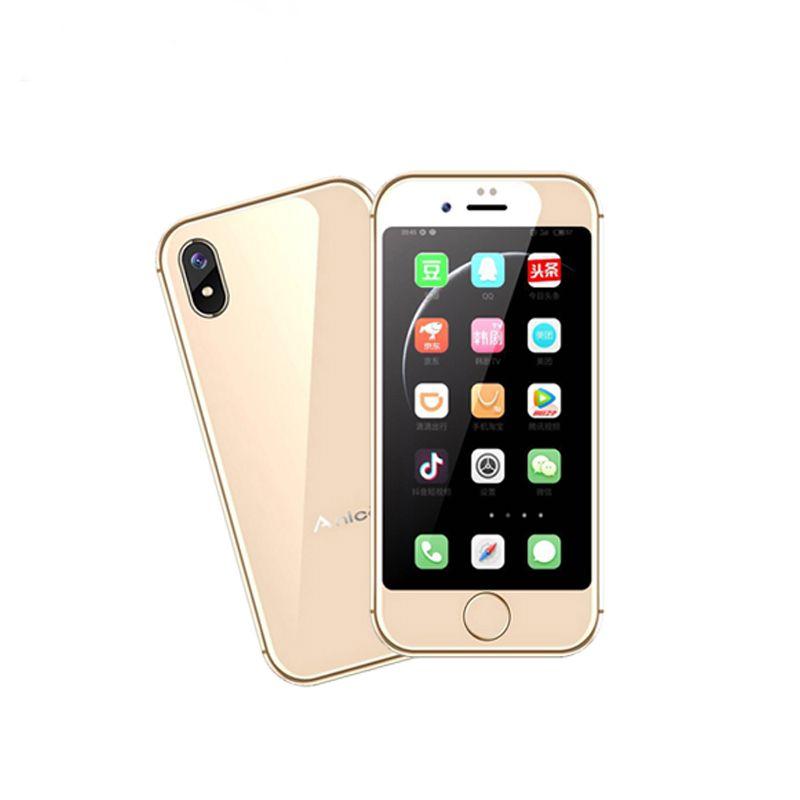 Anica I8 Super Mini Smartphone 2,54 MTK6580M Quad Core 1 gb RAM 8 gb ROM 3g GPS WIFI android 6.0 Ultradünne Luxus Karte Handy