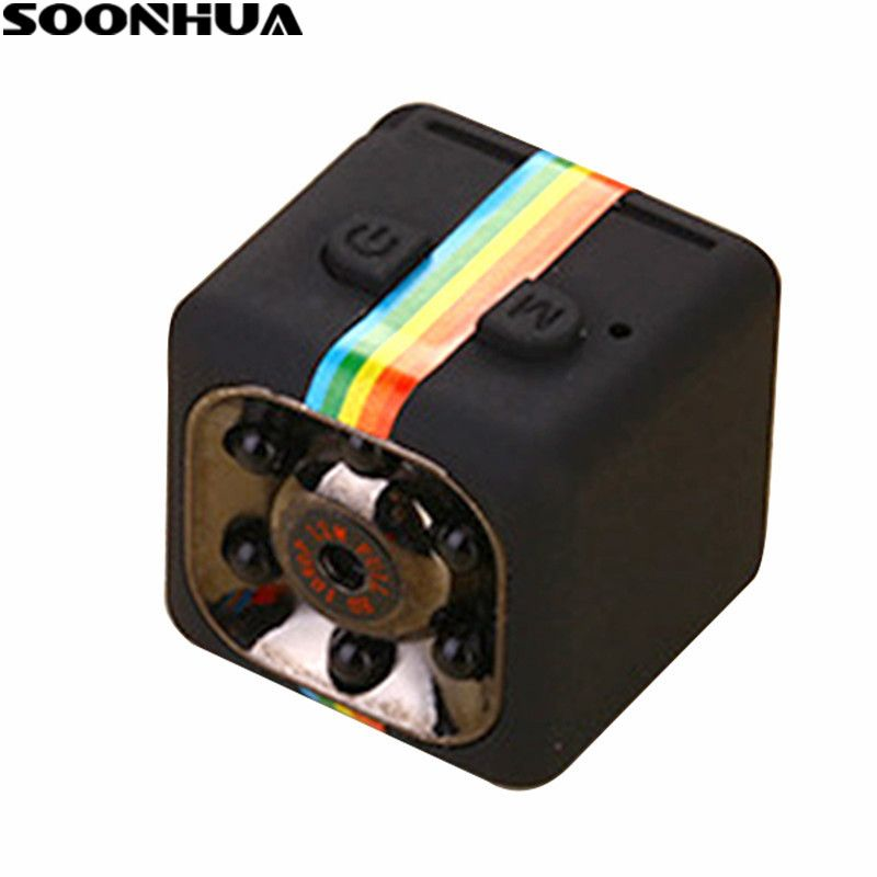 SOONHUA SQ11 HD 1080P Camera Night Vision Action Camcorder DV Video Voice Recorder Micro Detection Cameras Support TF Card