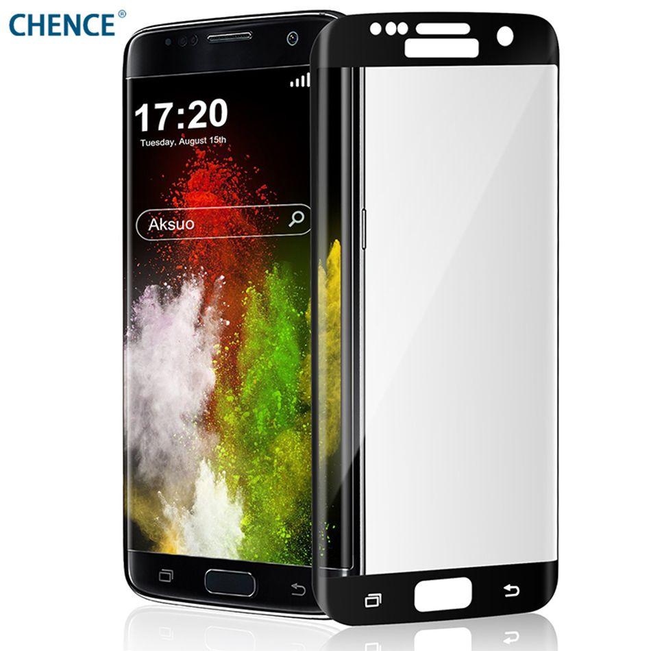Für S7edge S6 Rand Displayschutzfolie 3D Gebogene Volle Abdeckung Toughened Ausgeglichenes Glas Für Samsung Galaxy S7edge S6 rand S6edge plus