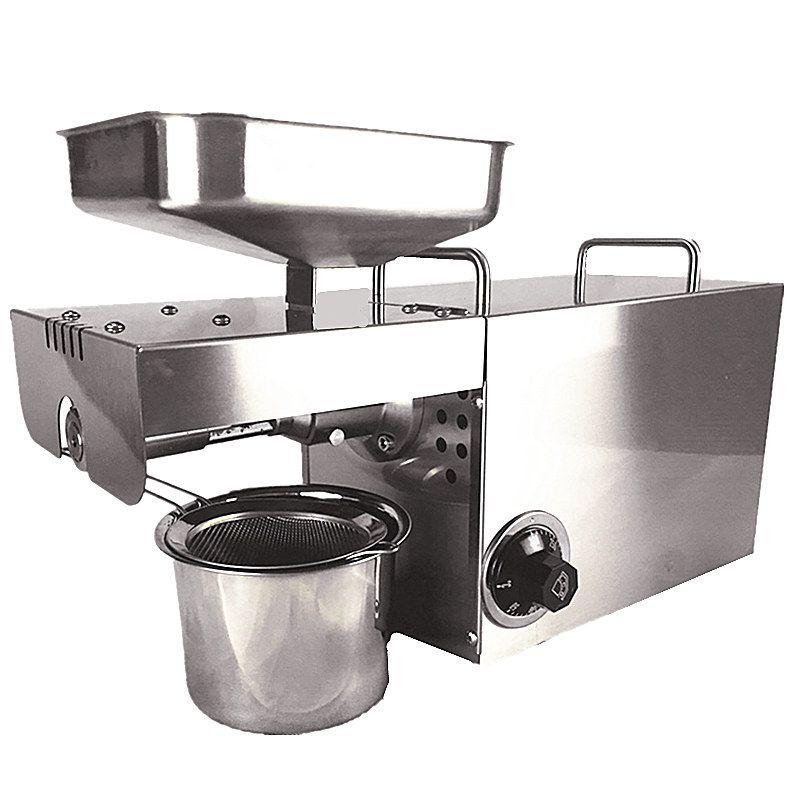 110 V 220 V Temperaturregelung Kommerziellen Edelstahl Ölpresse Maschine Samen Automatische Öldruck Hohe Extraktion