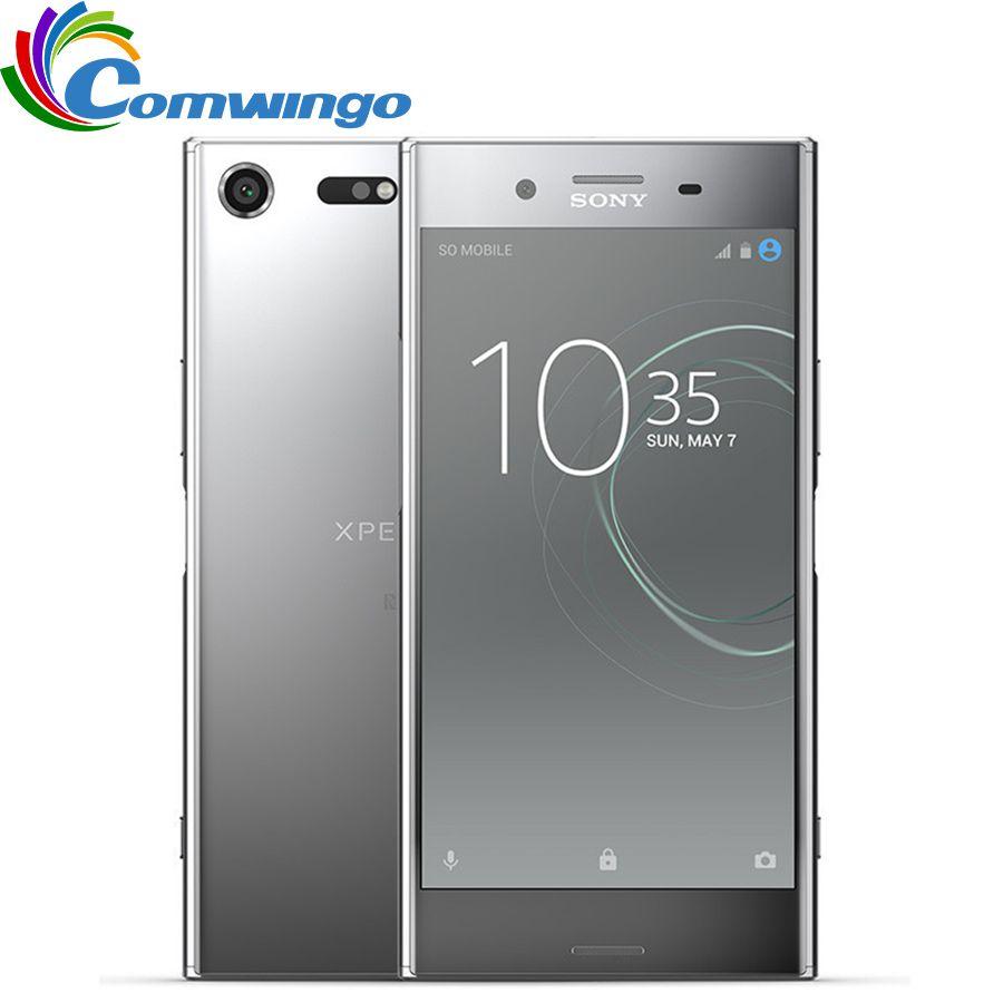 Original Entsperrt Sony Xperia XZ Premium G8141 RAM 4 GB ROM 64 GB 4G LTE Android Octa Core 5,5 19MP WIFI GPS 3230 mAh Smartphone