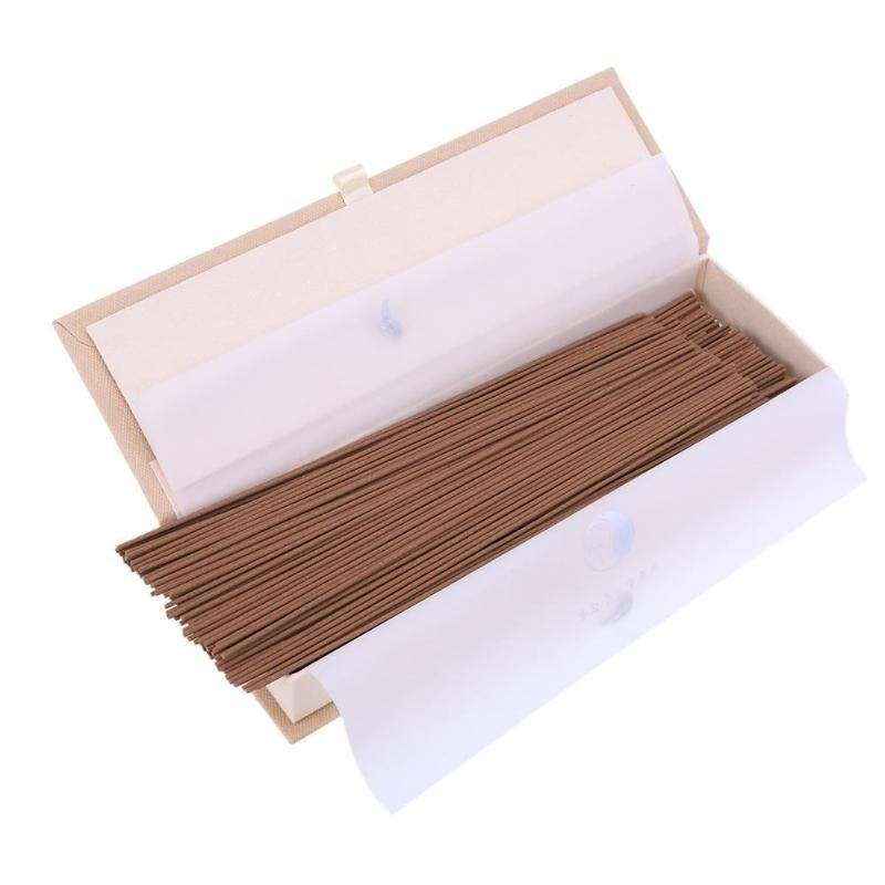 240pcs Natural Fragrant Aromatic Chinese Incense Sticks Sandalwood Incense Stick Indoor Spice Good for Sleep Health Incense