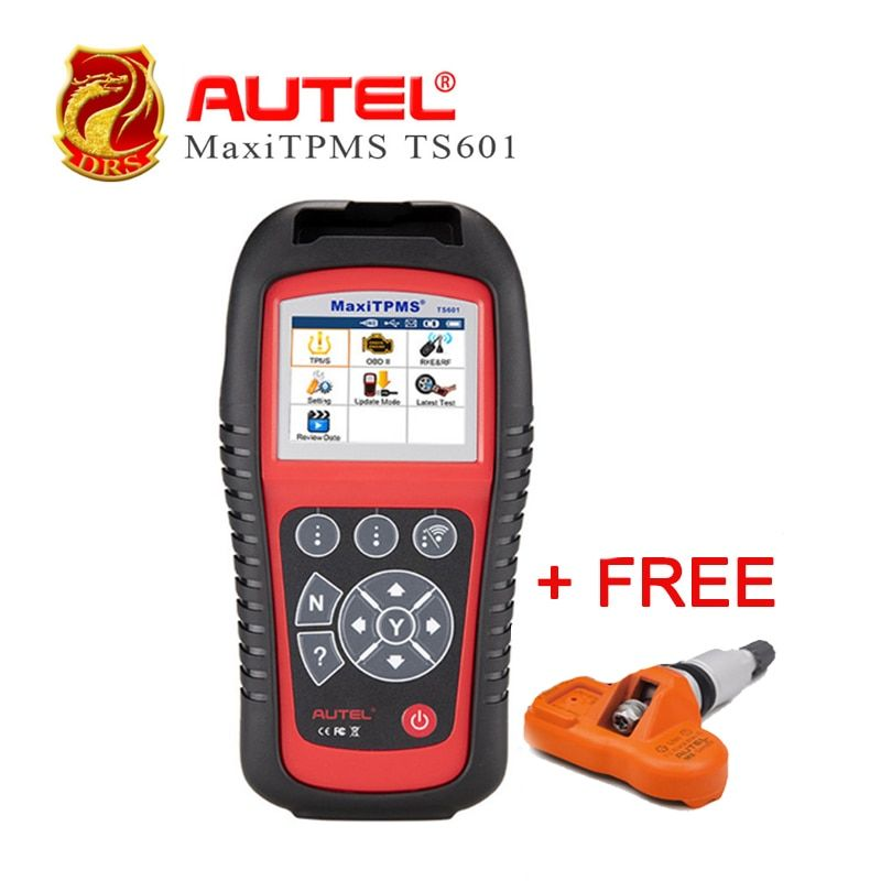 Autel MaxiTPMS TS601 TPMS Car Diagnostic Wireless TPMS Sensor Reset Relearn Activate Programming Tool OBD2 Code Reader Function
