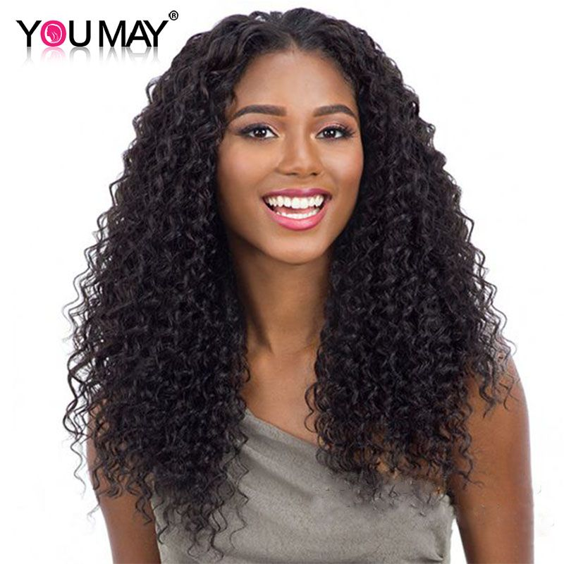 180% Density Curly Silk Base Full Lace Wigs With Baby Hair Pre Plucked Brazilian Remy Wigs With Silk Base Closure You May