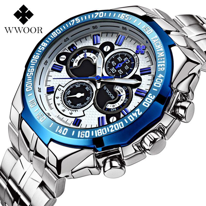 Top marque de luxe hommes montres 30 m étanche japon Quartz sport montre hommes en acier inoxydable horloge mâle décontracté militaire montre-bracelet