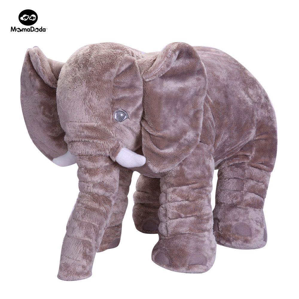 Baby Elephant Plush Toy Elephant Baby Pillow For Children Crib Foldable Kids Dolls Seat Cushion Babies Newborn Photography Props