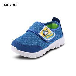 MHYONS Весна от 1 до 6 лет детская обувь для маленьких мальчиков и девочек повседневная спортивная обувь модные детские кроссовки брендовые кро...