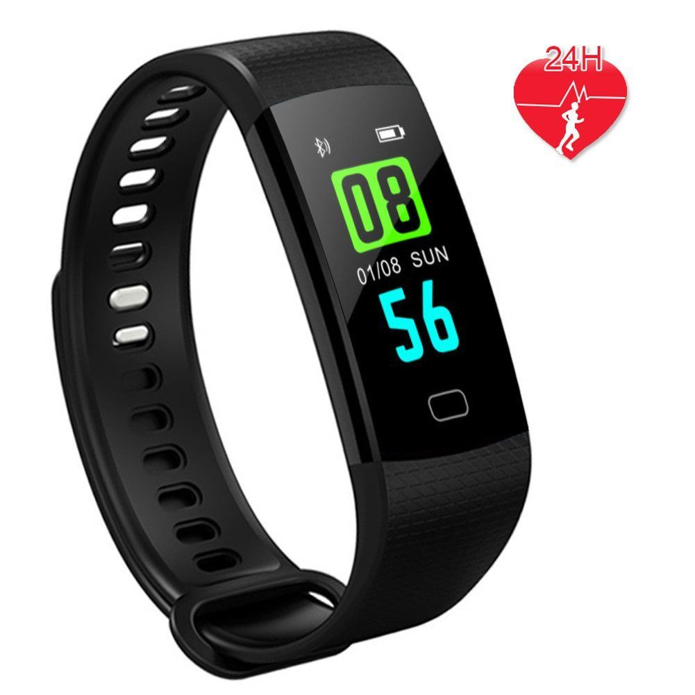 Y5 Smart Band Sport Intelligent Bracelet Wristband Pulse Watch Blood Pressure Activity Sleep Fitness Tracker Health Band Black