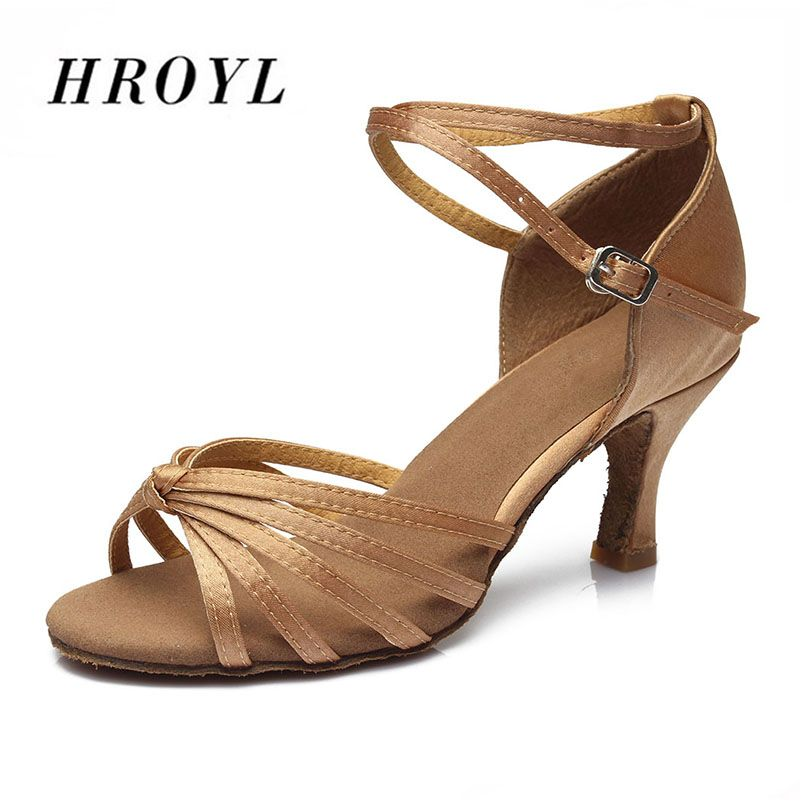 Hot <font><b>sales</b></font> Satin/PU Women Latin dancing shoes Ballroom dancing shoes heeled 5CM and 7CM