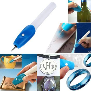 1pc Mini Engraving Pen Electric Jewellery Glass Wood Engraver Carving Pen Machine Grave Tool