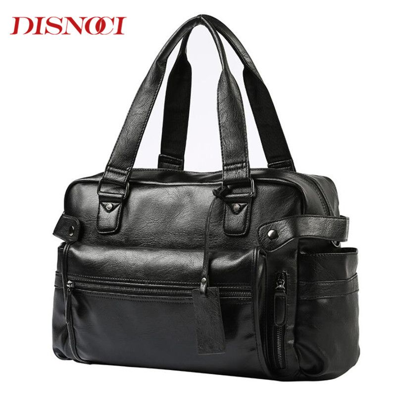 Brand New Men's Handbag For Men Business Briefcase Satchel Bags Fashion Messenger Bag Laptop Travel Large Shoulder Bags
