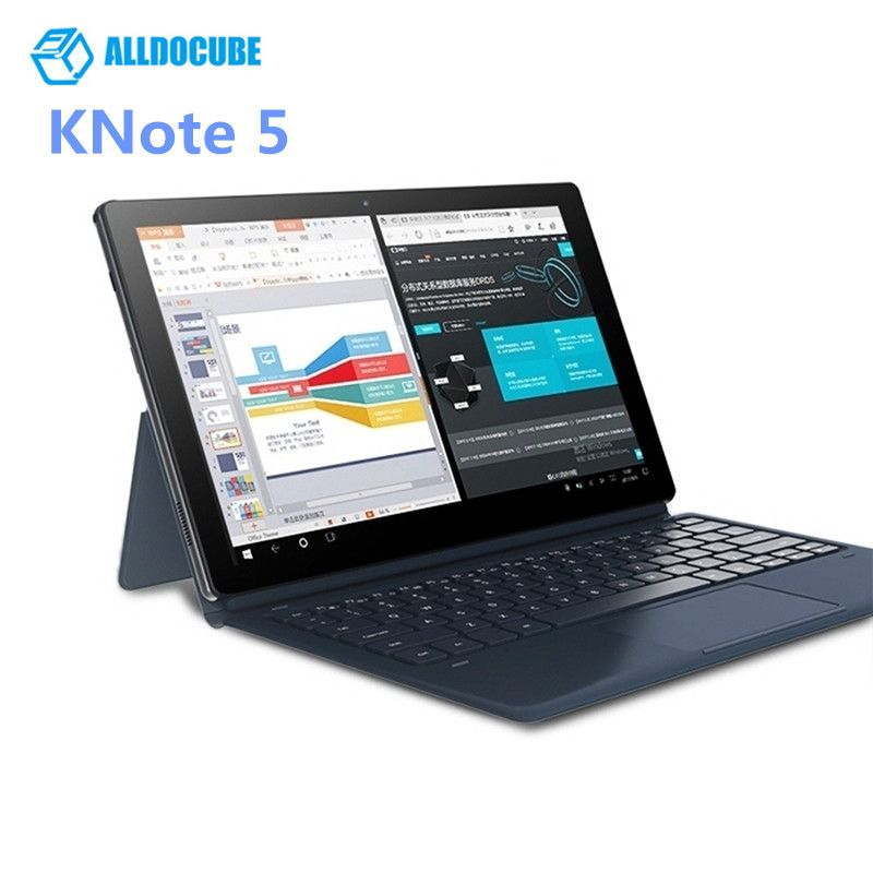 ALLDOCUBE KNote5 Tablet PC 11.6'' Windows 10 Intel Gemini Lake N4000 Quad Core 4GB RAM 128GB SSD ROM Dual WiFi Front Camera