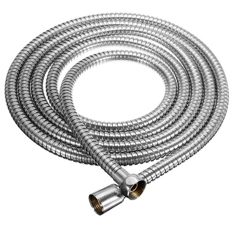 Lange Edelstahl 1/2 Zoll Bad Dusche Flexible Schlauch Rohrverschraubung Bad Produkt Einfach Zu Installieren Für 3 mt Länge