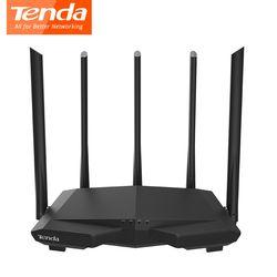 Tenda AC7 Drahtlose wifi Router 11AC 2,4 Ghz/5,0 Ghz Wi-fi Repeater 1 * WAN + 3 * LAN ports 5 * 6dbi high gain Antennen Smart APP Verwalten