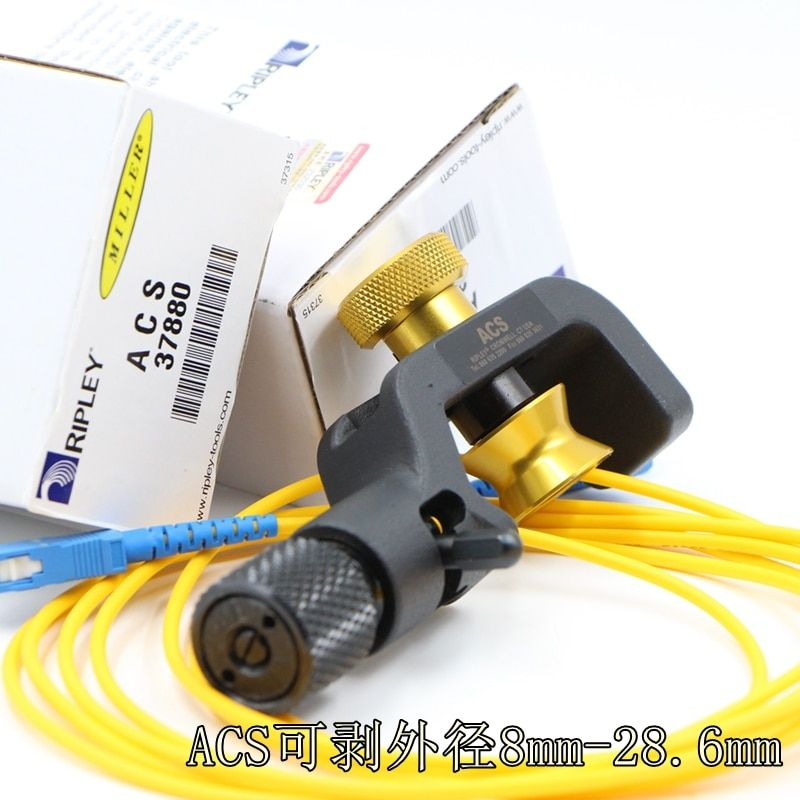 Free Shipping Original Miller brand ACS ACS-K 37880 Fiber Optic Armored Cable Slitter 8mm-28.6MM