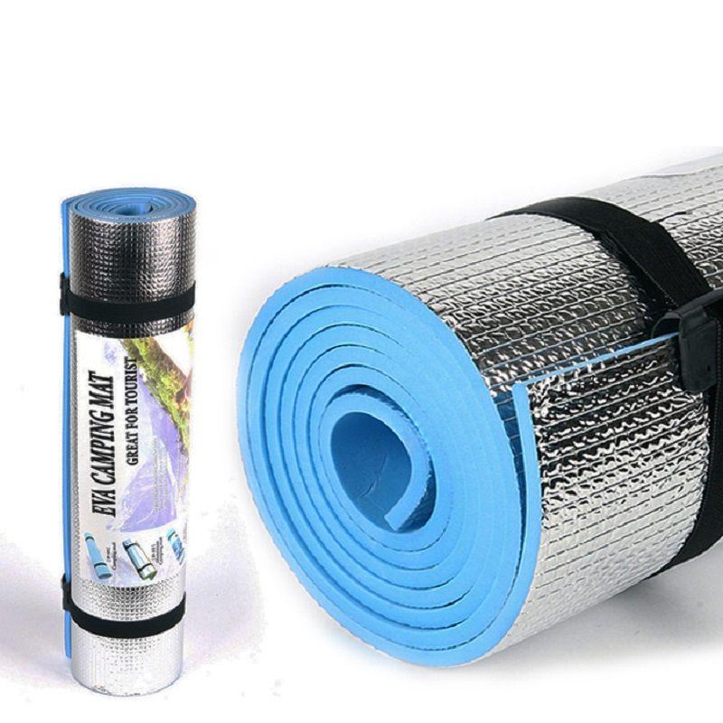 Tapis de camping en plein air matelas pique-nique couverture pique-nique tapis de pique-nique tapis de papier d'aluminium Camping tapis de plage résistant à l'humidité 180*50*0.6 cm
